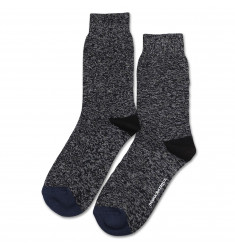 Relax 8 by 8 Weave Knit Supermelange Black / Navy / Light Grey Melange