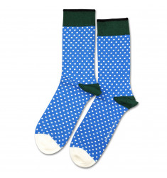 Originals Polkadot Blue Eyes / Off White / Forrest Green