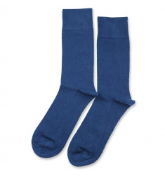 Democratique Socks Originals Solid New Blue