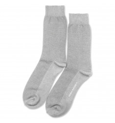 Democratique Socks Originals Champagne Pique 12-pack Light Grey Melange