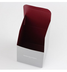 2a324585b9 Democratique Socks Giftbox 10x10 cm - 12 x 3pack Grey / Red Wine