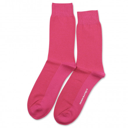 2192adacf6 Democratique Socks Originals Champagne Pique Purplish Pink ...