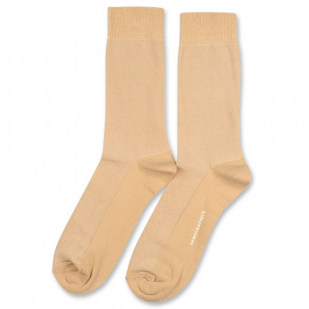 Democratique Socks Originals Champagne Pique 6-pack Casual Sand