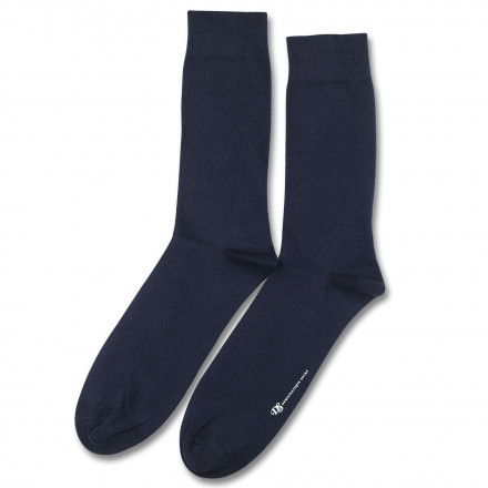 Democratique Socks Superior Wool Solid 6-pack Navy
