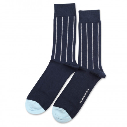 Originals Latitude Striped Navy/Clear White/Light Blue 6-pack