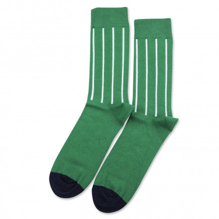 Originals Latitude Striped Tennis Green/Clear White/Navy 6-pack