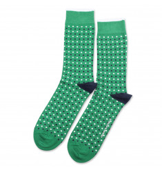 Originals Polkadot Tennis Green/Navy/Clear White 6-pack