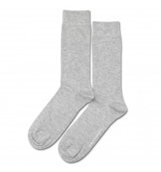Democratique Socks Superior Wool Solid 6-pack Light Grey Melange