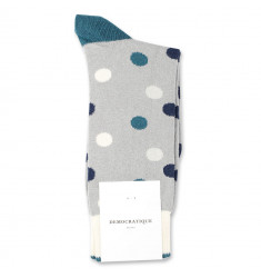 Democratique Socks Originals DotCom 6-pack Stone / Benzin / Off White / Soft Grey / Navy