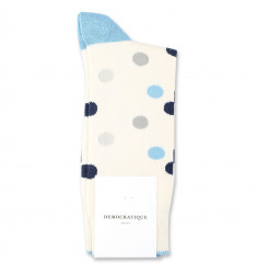 Democratique Socks Originals DotCom 6-pack Off White / Soft Grey / Stone / Palm Springs Blue / Navy