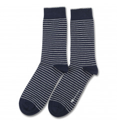 Originals Mini Stripes Navy/Broken White 6-pack