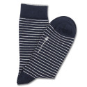 Democratique Socks ORIGINALS MINI STRIPER Navy / Broken White