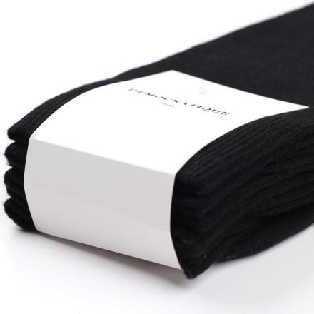 Democratique Socks ORIGINALS SOLID 3-pack Black