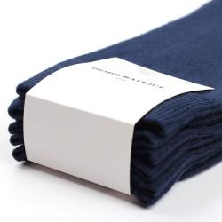 Democratique Socks ORIGINALS SOLID 3-pack Navy