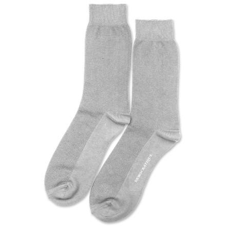 Democratique Socks Originals Champagne Knit Light Grey Melange
