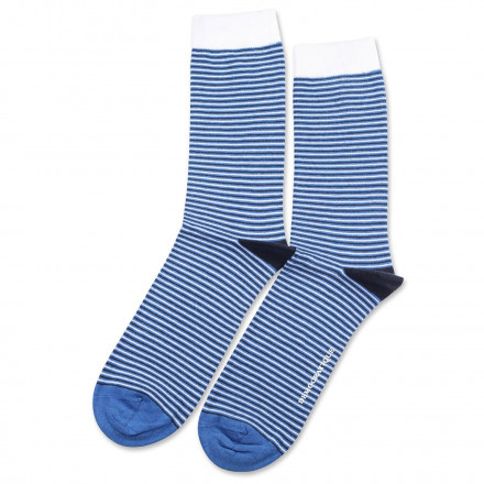 Originals Ultralight Stripes Adams Blue/Clear White/Navy 6-pack