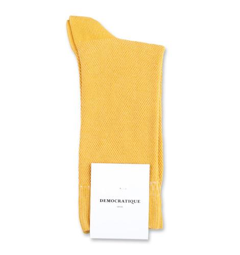 Democratique Socks Originals Champagne Pique 6-pack Hot Curry