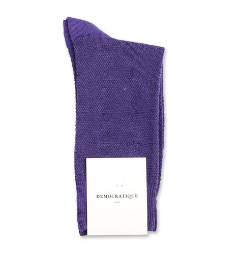 Democratique Socks Originals Champagne Pique 6-pack Purple Rain