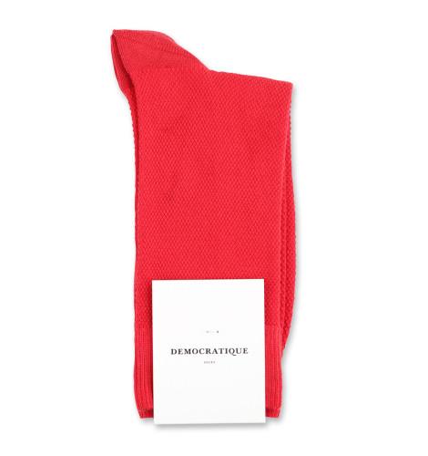 Democratique Socks Originals Champagne Pique 6-pack Rosehips