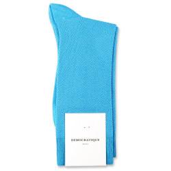 Democratique Socks Originals Champagne Pique 6-pack Swimmingpool