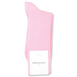 Democratique Socks Originals Fine Rib 6-pack Soft Pink