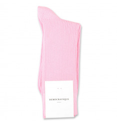 Democratique Socks Originals Fine Rib 6-pack Soft Pink