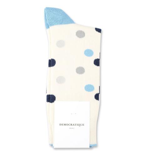 Democratique Socks Originals DotCom 6-pack Off White / Soft Grey / Stone / Palm Springs Blue / Navy