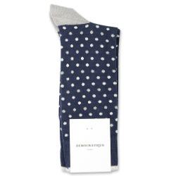 Democratique Socks Originals Polkadot 6-pack Navy / Stone / Off White / Silver