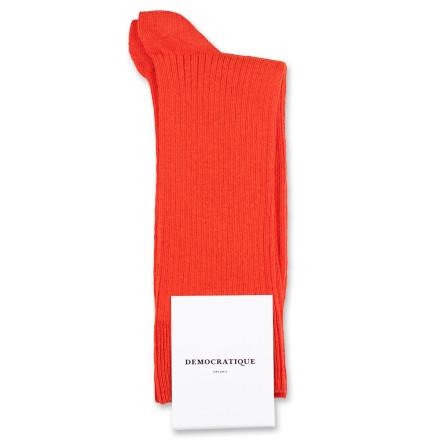 Democratique Socks Originals Fine Rib 6-pack Okker Orange