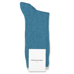 Democratique Socks Originals Fisher Knit 6-pack Petroleum / Light Rosso / Off White
