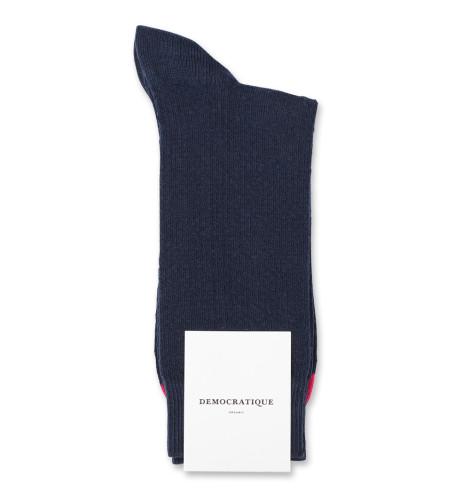 Democratique Socks Originals Fisher Knit 6-pack Navy / Dark Red