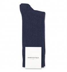 Democratique Socks Originals Solid Navy