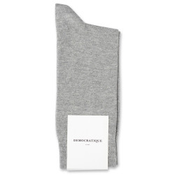 Democratique Socks Originals Solid Light Grey Melange
