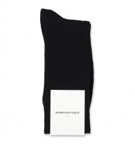 Democratique Socks Originals Champagne Pique 12-pack Black