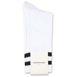 Edwin Jeans x Democratique Socks Athletique THIS IS THE LIFE 12-pack Clear White - Black