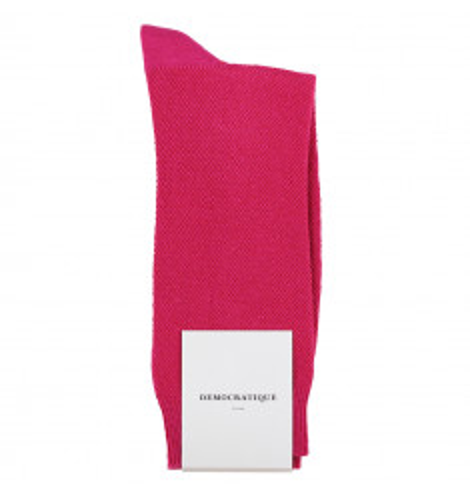Democratique Socks Originals Champagne Pique Purplish Pink 6-pack