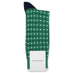 Originals Polkadot Tennis Green/Navy/Clear White 6-pack