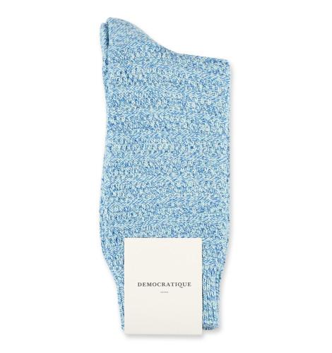 Relax Slub Knit Supermelange Poolside Green/Off White/Adams Blue 6-pack