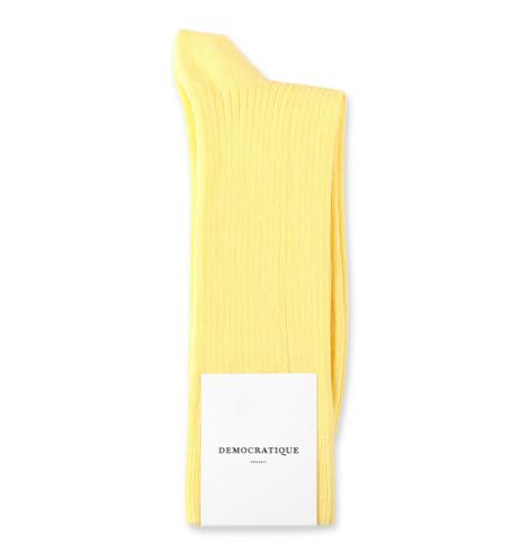 Democratique Socks Originals Fine Rib 6-pack Shaded Yellow
