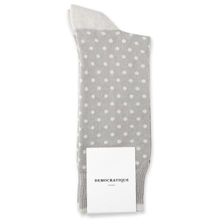 Democratique Socks Originals Polkadot 6-pack Stone / Soft Grey / Benzin