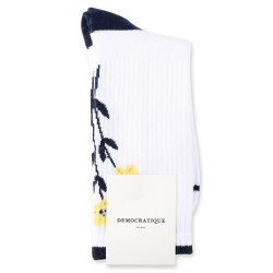 Democratique Socks Athletique Classique Icons 6-pack Flower