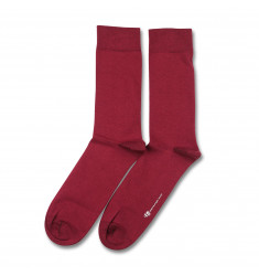 Democratique Socks ORIGINALS SOLID Red Wine